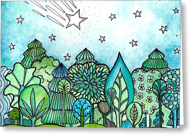 Make A Wish Greeting Card by Robin Mead