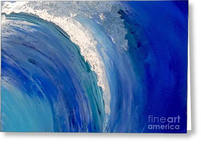 Make Waves Greeting Card by Jilian Cramb - AMothersFineArt