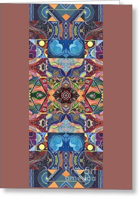 Making Magic - A  T J O D  Arrangement Greeting Card by Helena Tiainen
