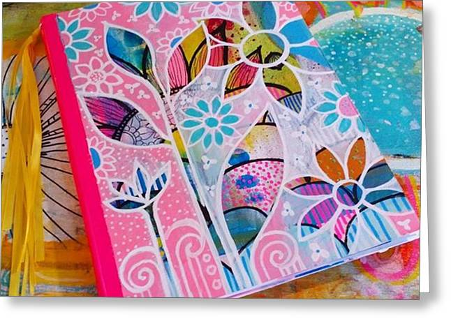 Making #meadori Style #artjournals Greeting Card