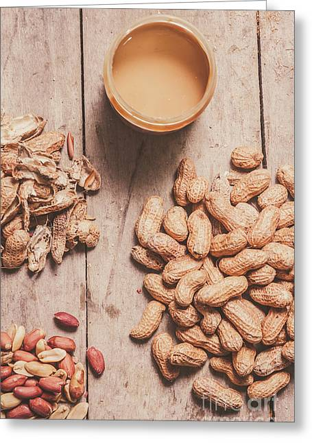 Making Peanut Butter Greeting Card by Jorgo Photography - Wall Art Gallery