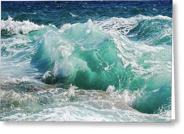 Making Waves Greeting Card