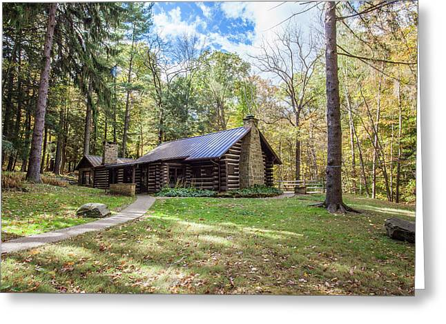 Greeting Card featuring the photograph Malabar Cabin by Lon Dittrick