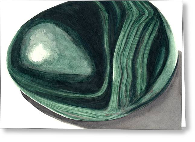 Malachite2 Greeting Card