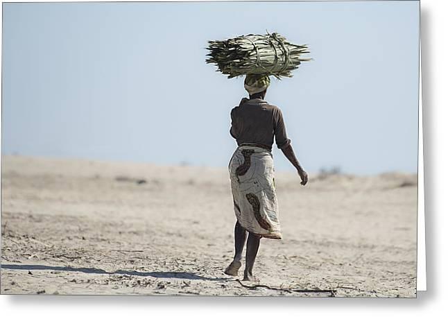 Malagasy Woman Greeting Card