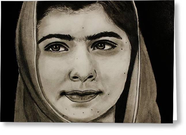 Malala Yousafzai- Teen Hero Greeting Card
