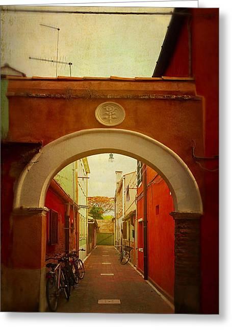 Malamocco Arch No1 Greeting Card