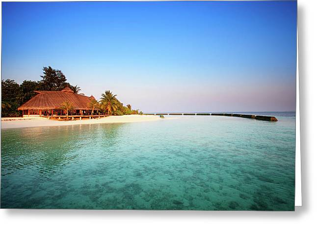 Maldives Morning Greeting Card
