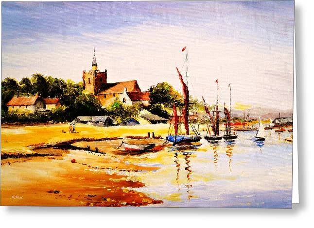 Maldon Essex Greeting Card by Andrew Read