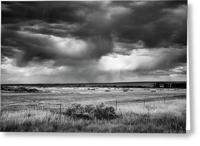 Malheur Storms Clouds Greeting Card