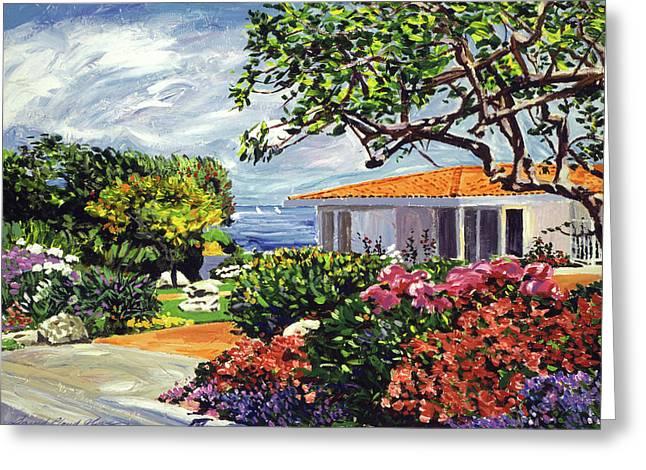 Malibu Garden Greeting Card