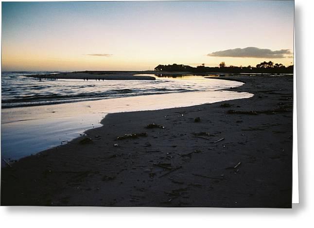 Malibu Sunset Greeting Card by Marina Danic