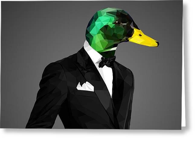 Mallard Duck 2 Greeting Card