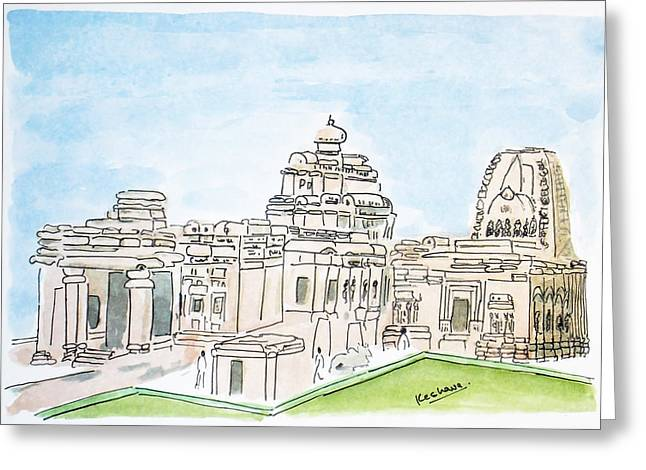Mallikarjuna Swami Jyotirling Greeting Card