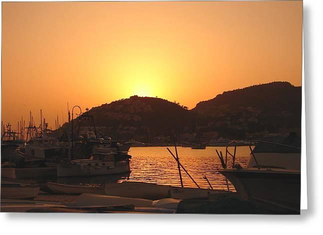 Greeting Card featuring the photograph Mallorca 1 by Ana Maria Edulescu