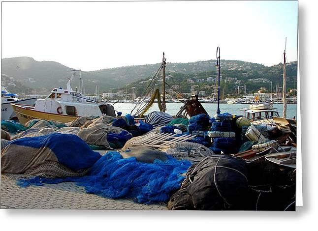 Greeting Card featuring the photograph Mallorca 2 by Ana Maria Edulescu