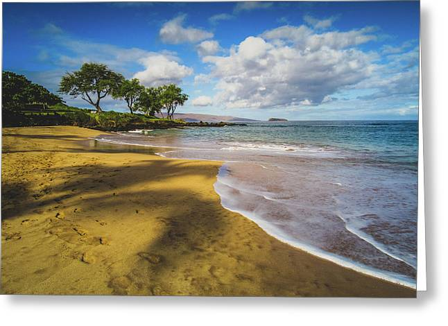 Maluaka Beach Greeting Card