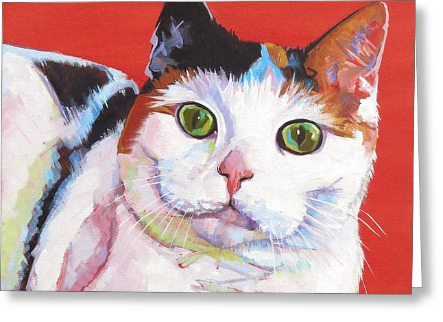 Mama Kitty Greeting Card