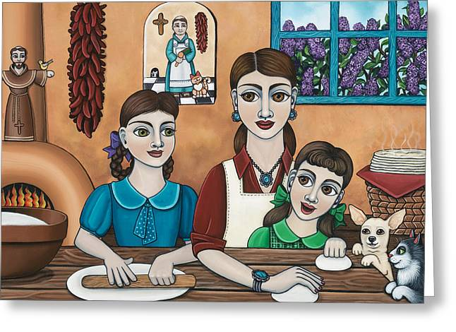 Mamacitas Tortillas Greeting Card