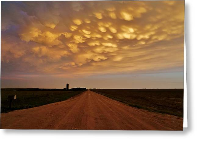 Mammatus Road Greeting Card