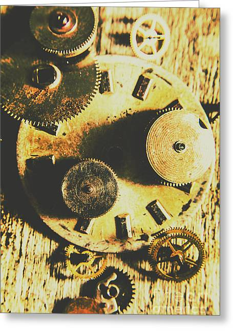 Man Made Time Greeting Card by Jorgo Photography - Wall Art Gallery