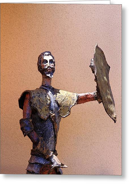 Man Of La Mancha Greeting Card