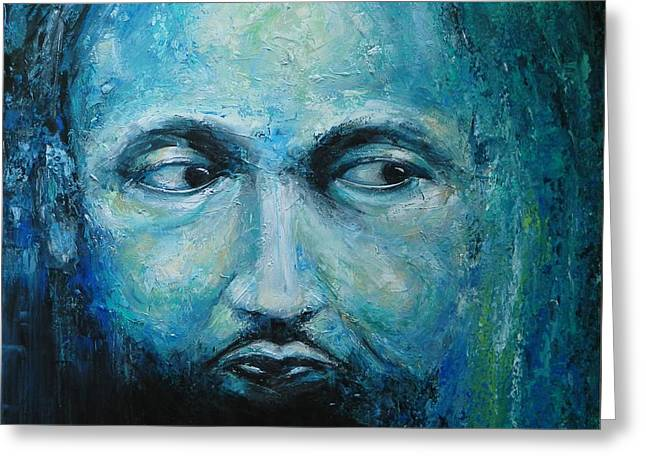 Man With A Dream Greeting Card by Dan Campbell