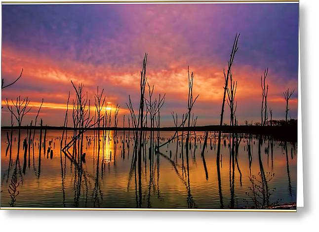 Manasquan Sunrise In New Jersey Greeting Card