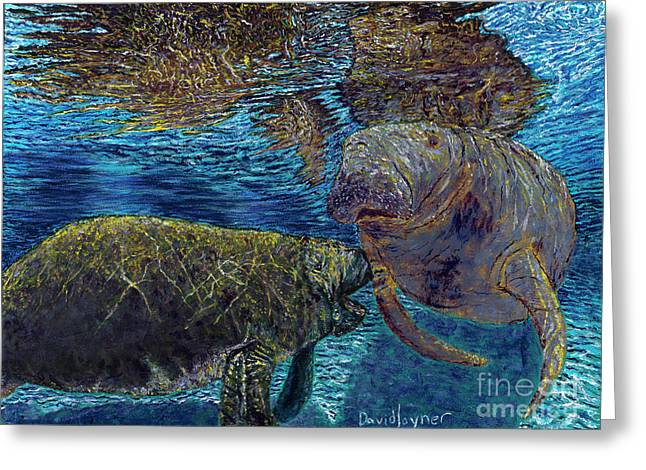 Manatee Motherhood Greeting Card