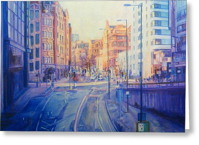 Manchester Light And Shade Greeting Card