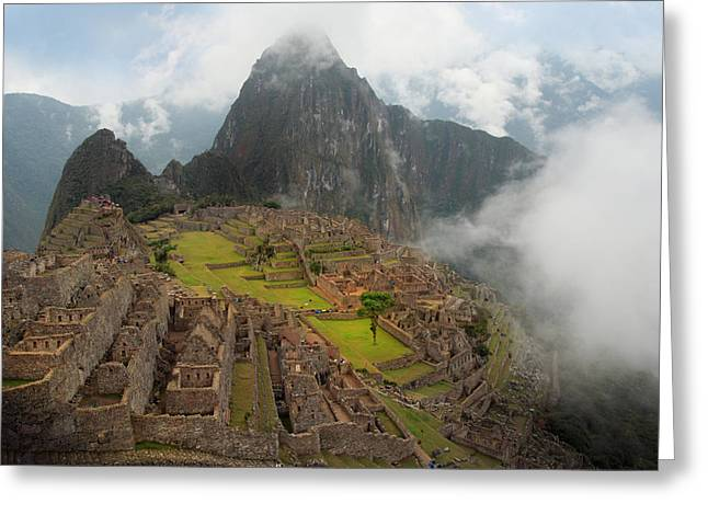 Manchu Picchu Greeting Card