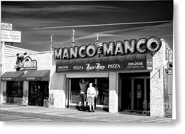 Manco And Manco Greeting Card by John Rizzuto