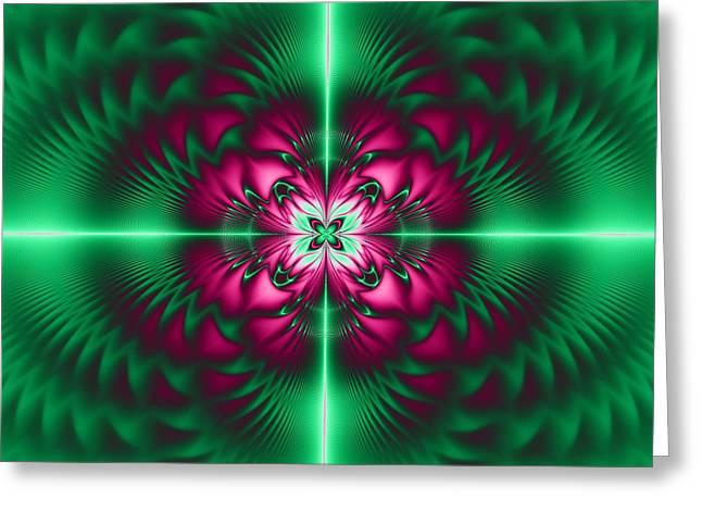 Mandala 7 Greeting Card by Sfinga Sfinga