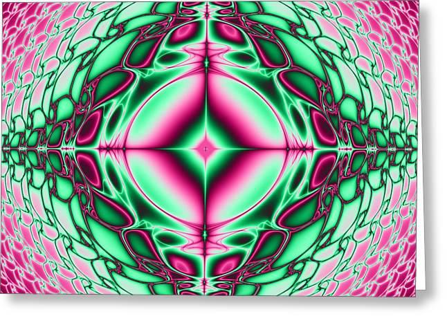 Mandala 8 Greeting Card by Sfinga Sfinga