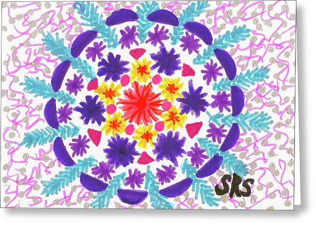 Mandala Magic Greeting Card
