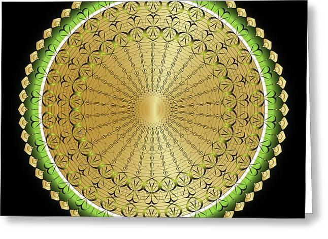 Mandala No. 100 Greeting Card