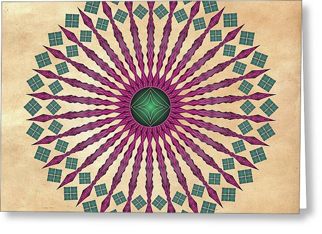 Mandala No. 13 Greeting Card