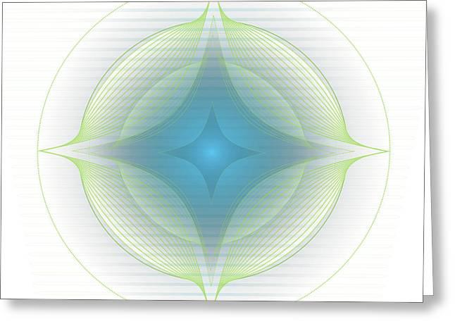 Mandala No. 85 Greeting Card