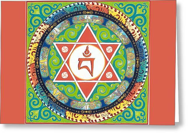 Mandala Of Vajrayogini Greeting Card