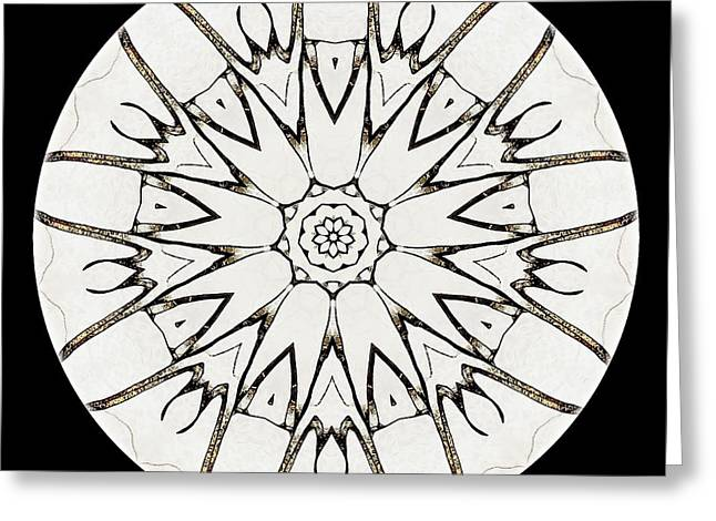 Mandala - Talisman 3779 Greeting Card