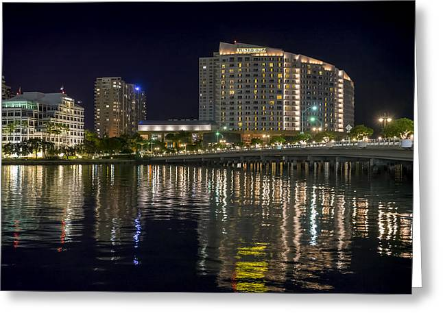 Mandarin Oriental On Brickell Key Greeting Card