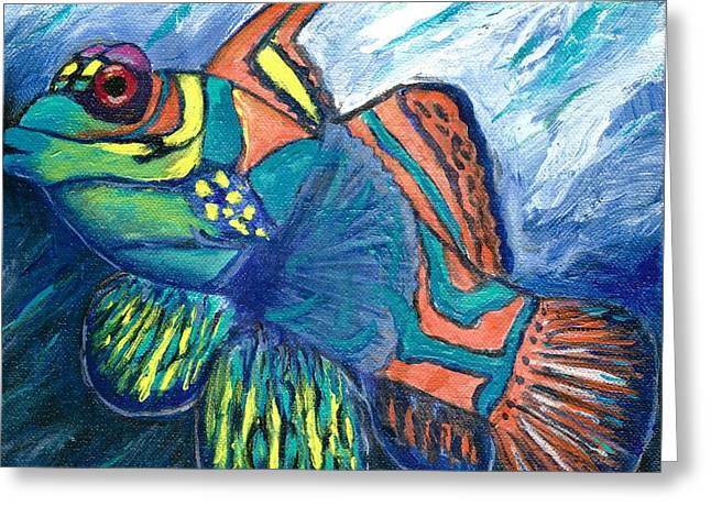 Mandarinfish Greeting Card