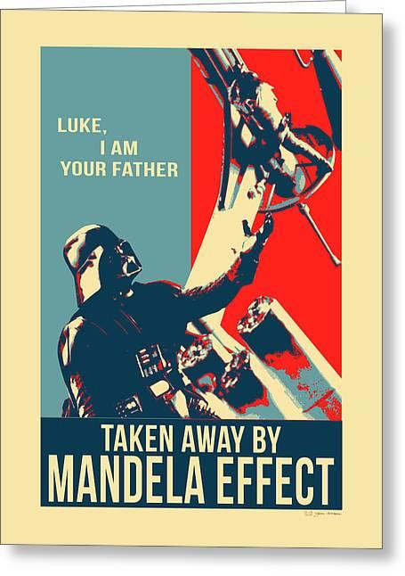 Mandela Effect - Luke I Am Your Father Greeting Card