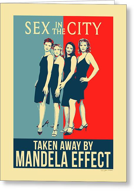 Mandela Effect - Sex In The City Greeting Card