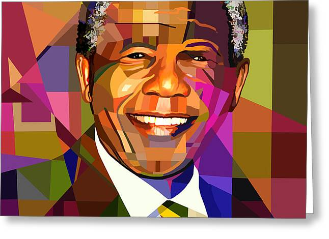 Mandela Greeting Card