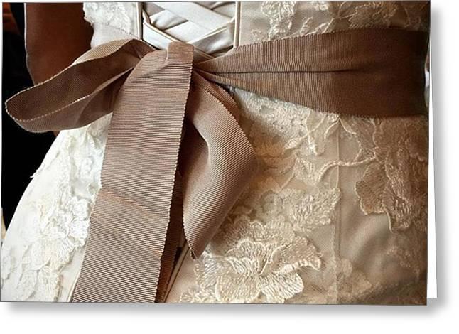 Mandi's Wedding Dress #juansilvaphotos Greeting Card