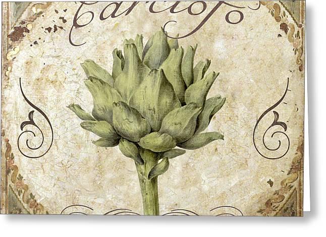 Mangia Carciofo Artichoke Greeting Card