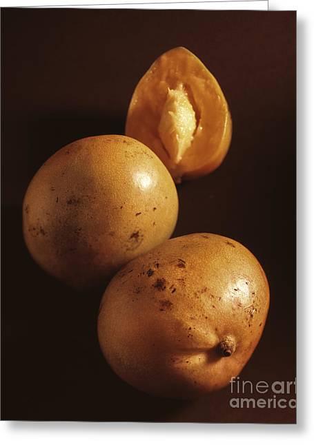 Mangos Greeting Card by Kim Lessel