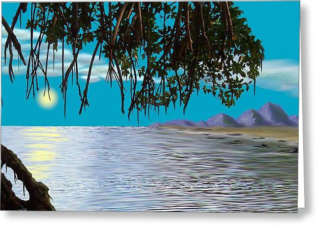 Mangrove Morning Greeting Card