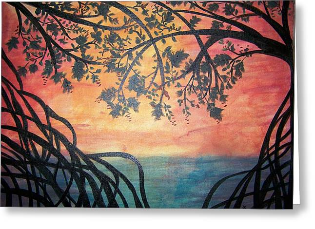 Mangroves Greeting Card by Patti Spires Hamilton